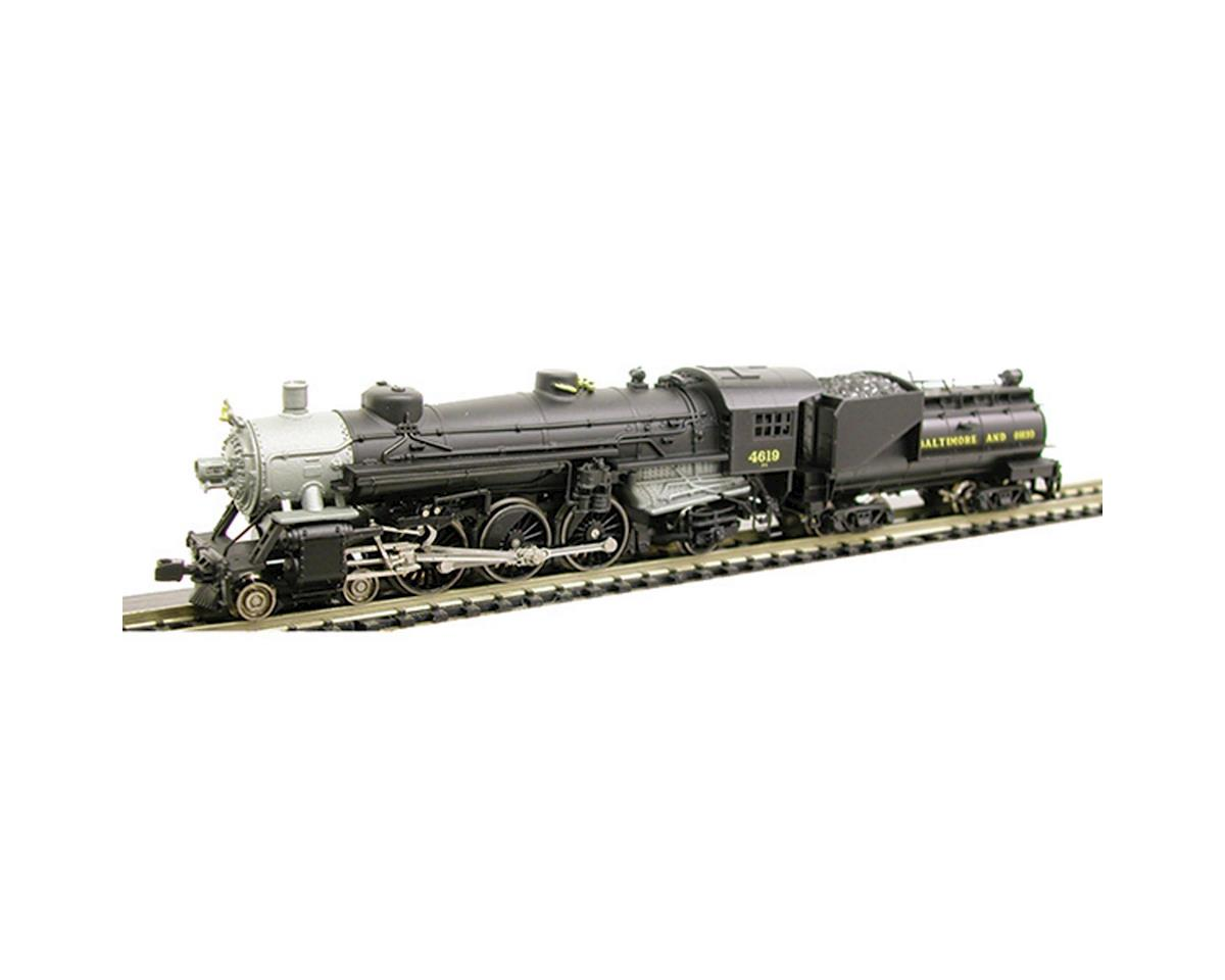 N USRA 4-6-2 w/Vandy Tender, B&O by Model Power