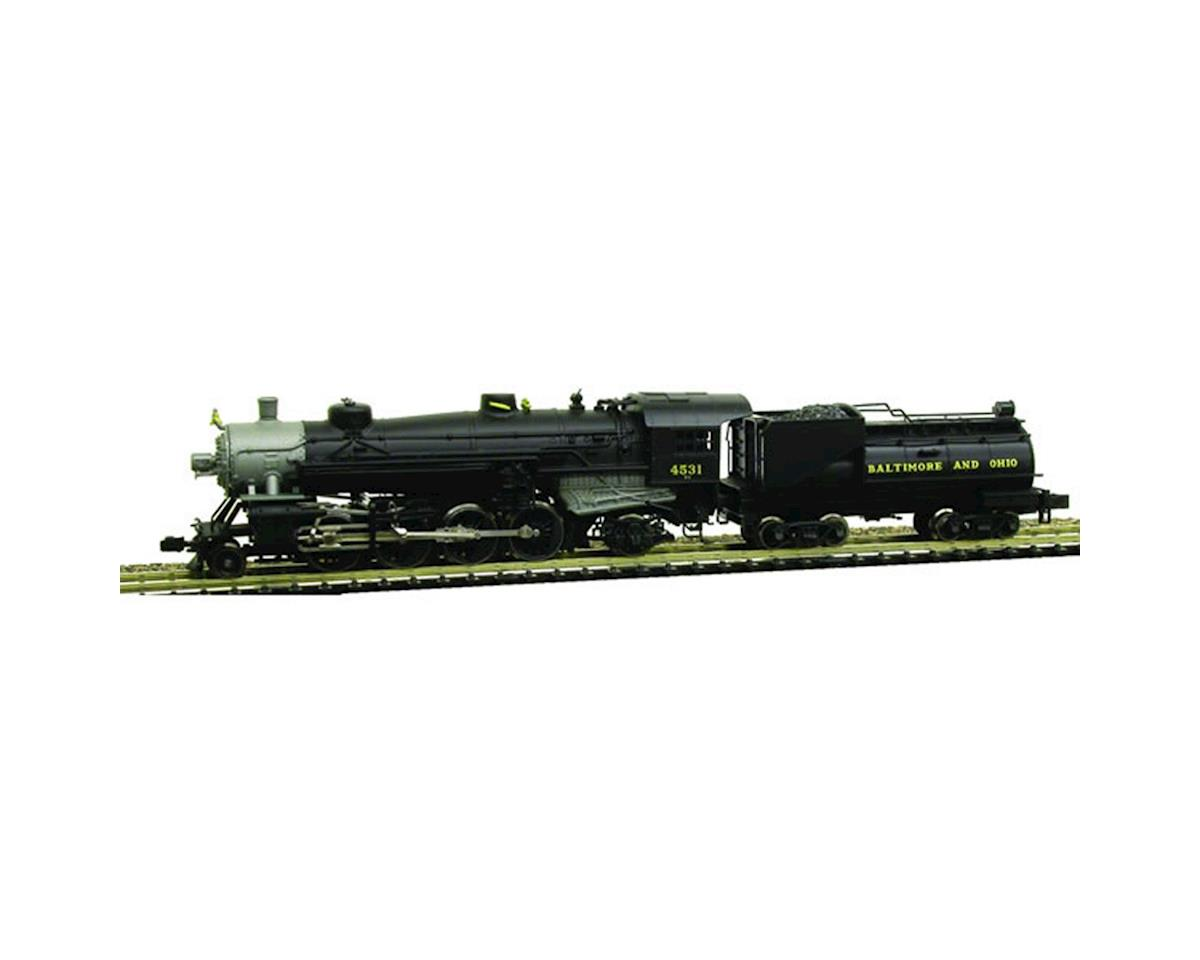 Model Power N USRA 2-8-2 w/Vandy Coal Tender/DCC & Sound, B&O