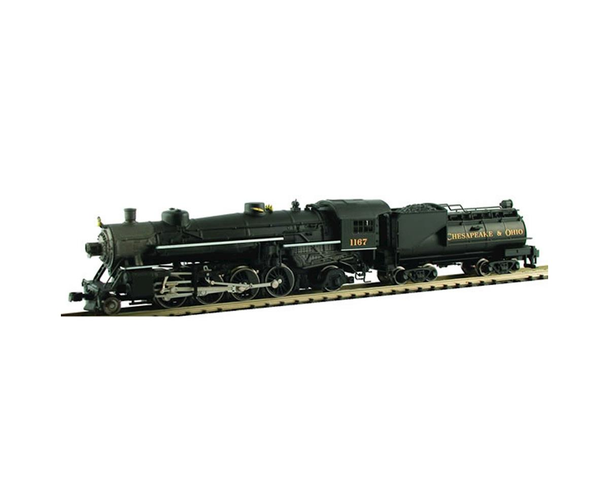 Model Power N USRA 2-8-2 w/Vandy Oil Tender, C&O
