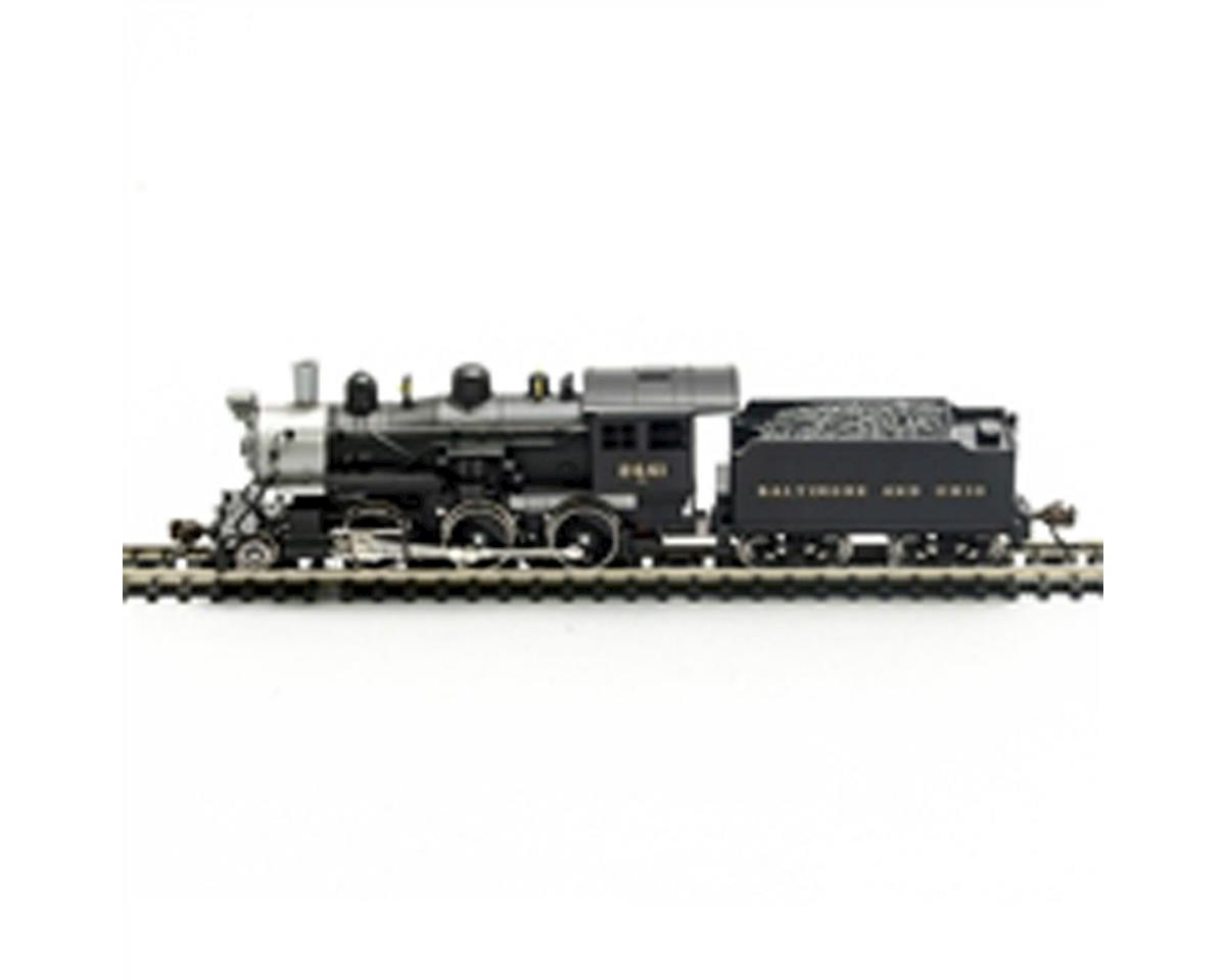 Model Power N 2-6-0 Mogul w/DCC & Sound, B&O