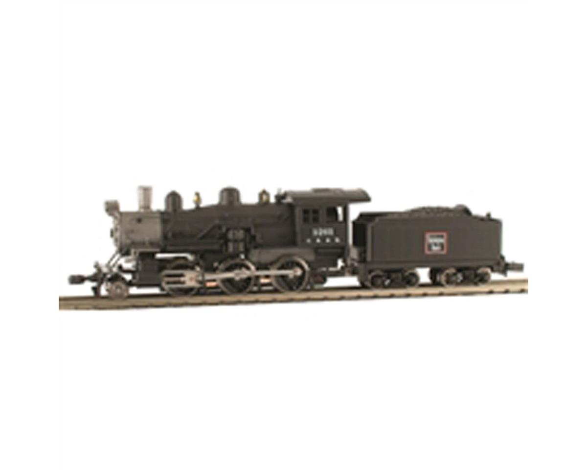 Model Power N 2-6-0 Mogul w/DCC & Sound, CB&Q
