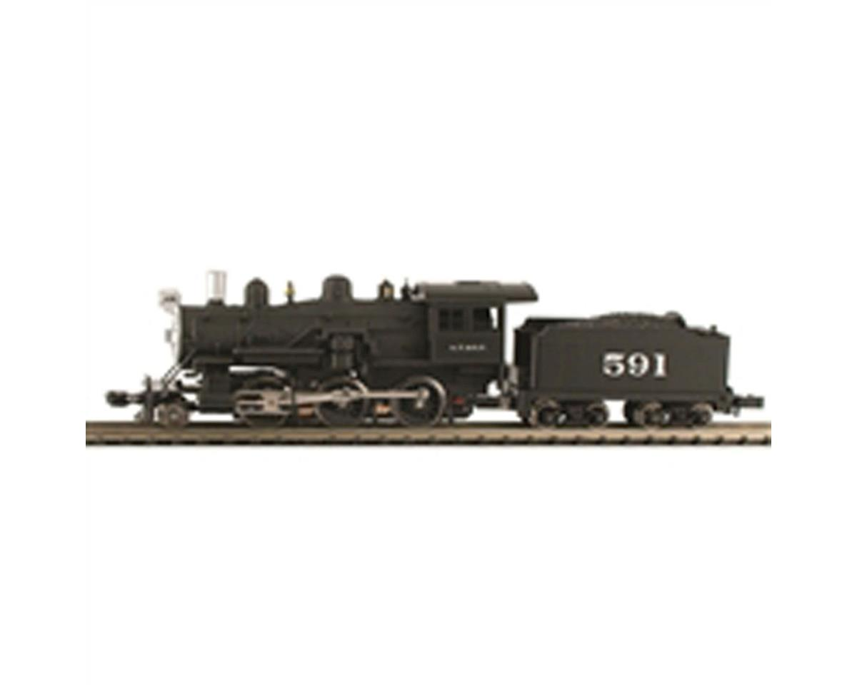 Model Power N 2-6-0 Mogul w/DCC & Sound, SF