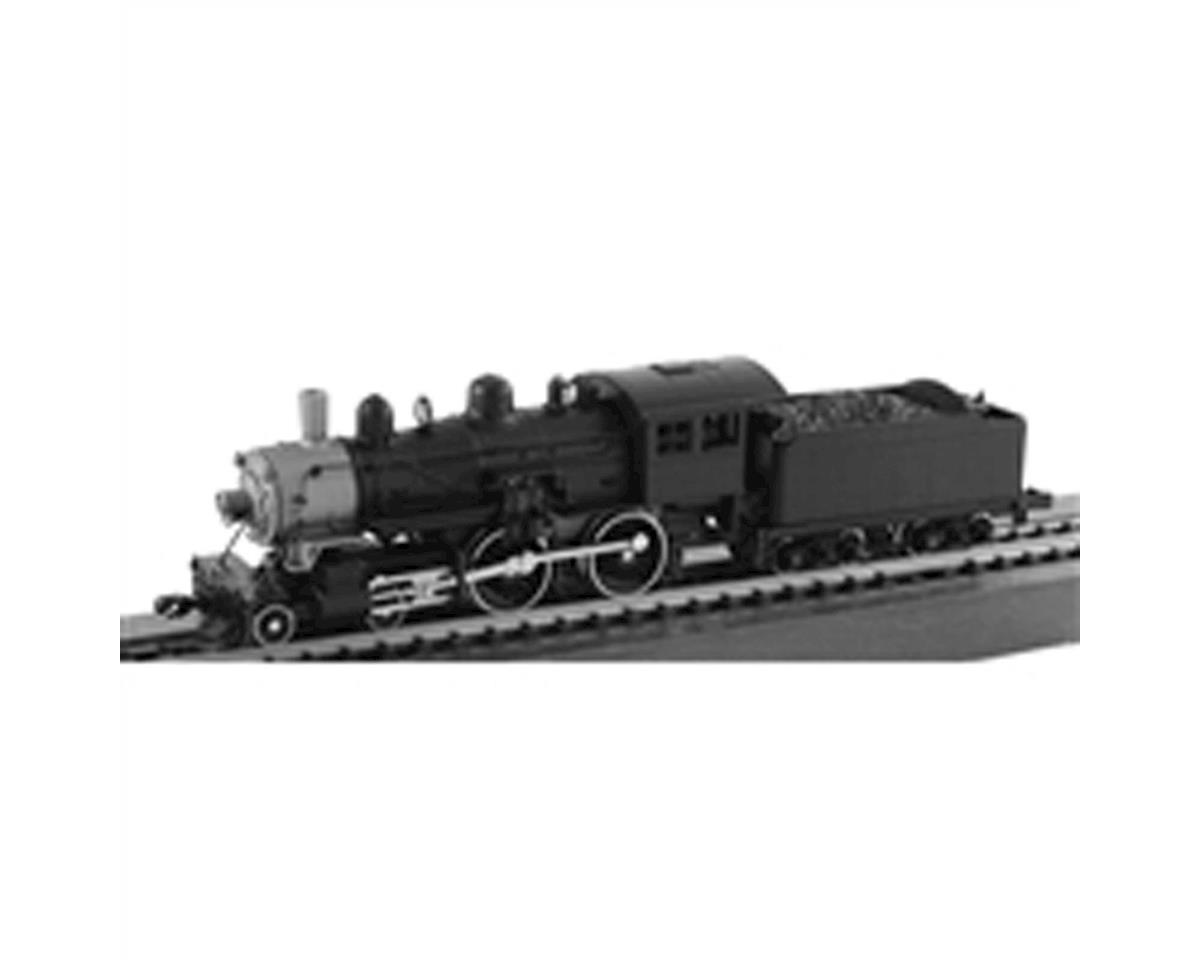 N 4-4-0 American w/DCC & Sound, Undecorated by Model Power