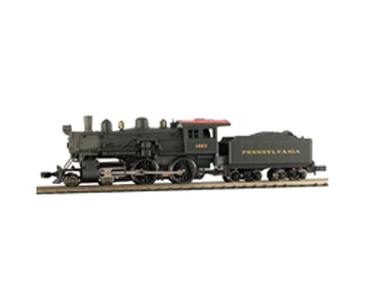 Model Power N 4-4-0 American w/DCC & Sound, PRR