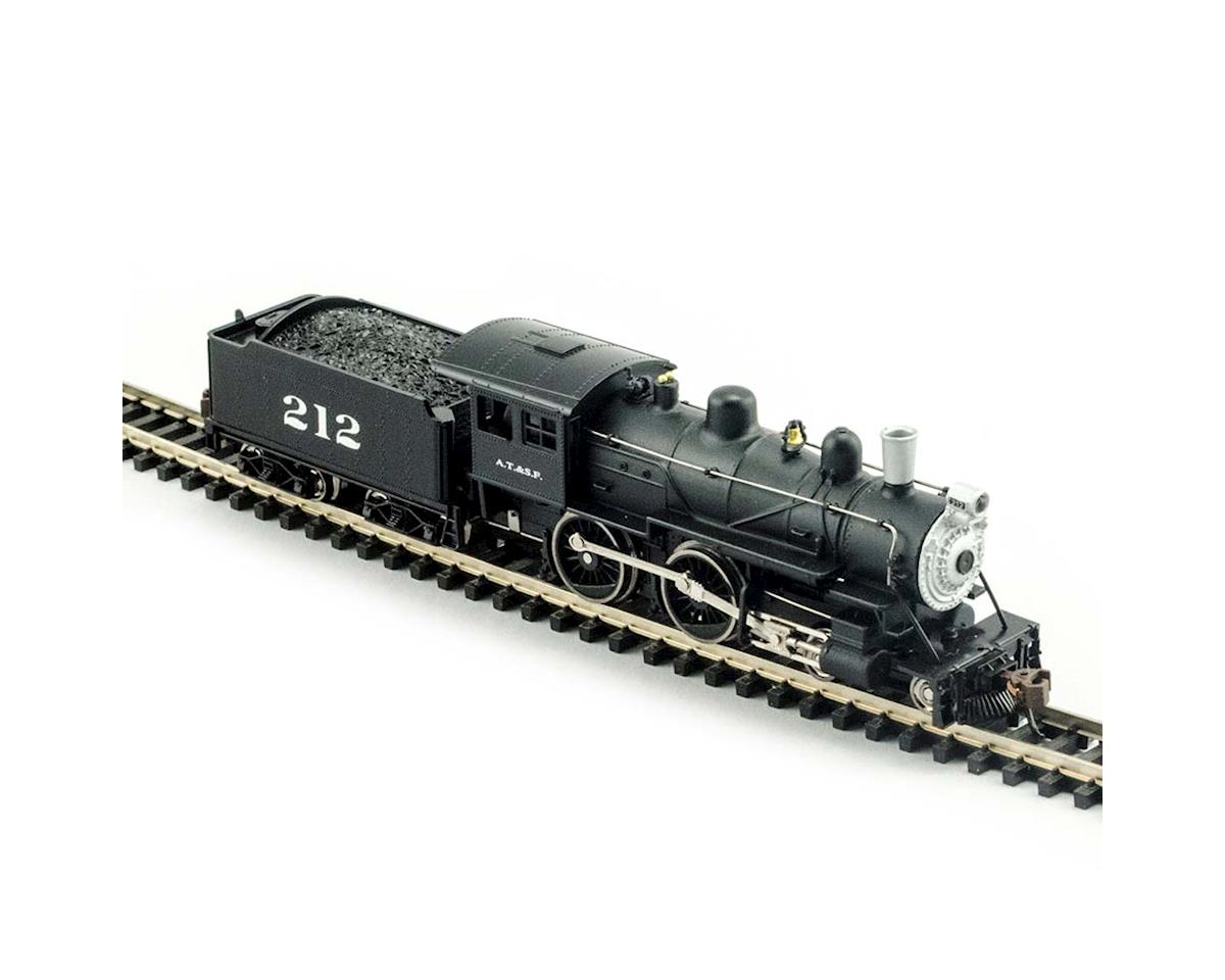 87634 4-4-0 American DCC Compatible Santa Fe N by Model Power
