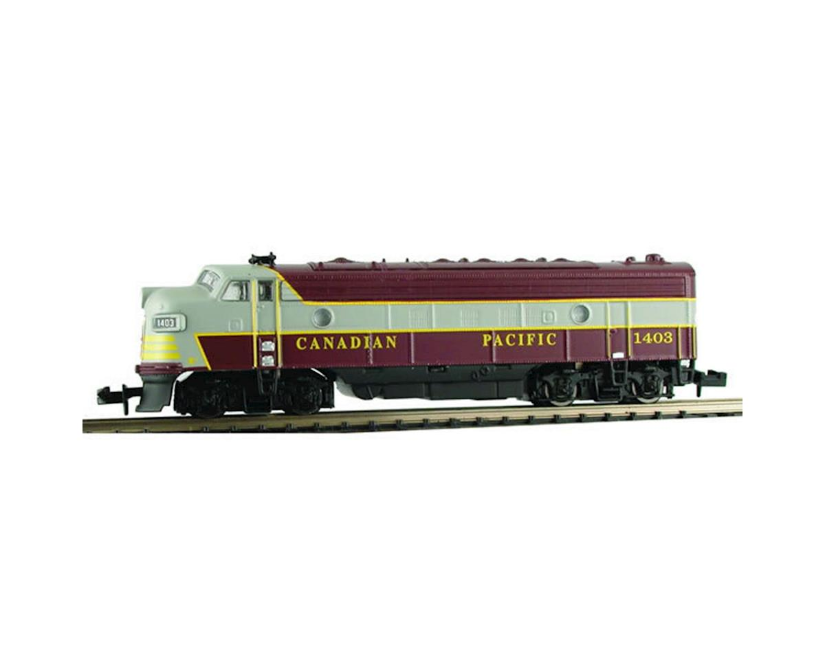 Model Power N FP7 Phase II w/DCC & Sound, CPR/Maroon & Gray