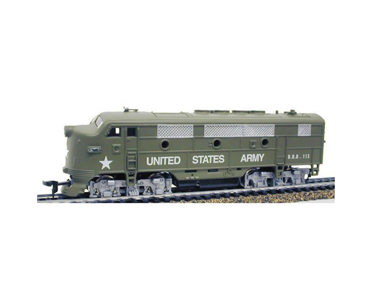 Model Power N FP7 w/DCC & SND, USARM