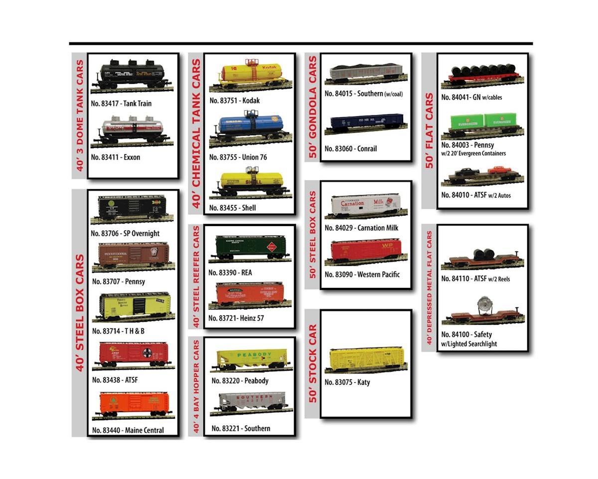 Model Power N Freight Car Assortment (24)