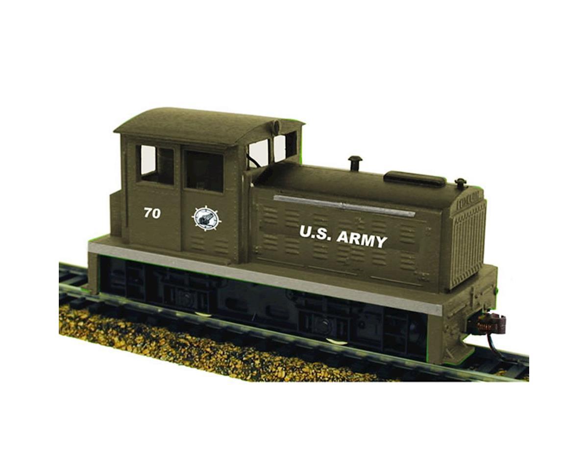 Model Power HO DDT Plymouth w/DCC & Sound, USARM