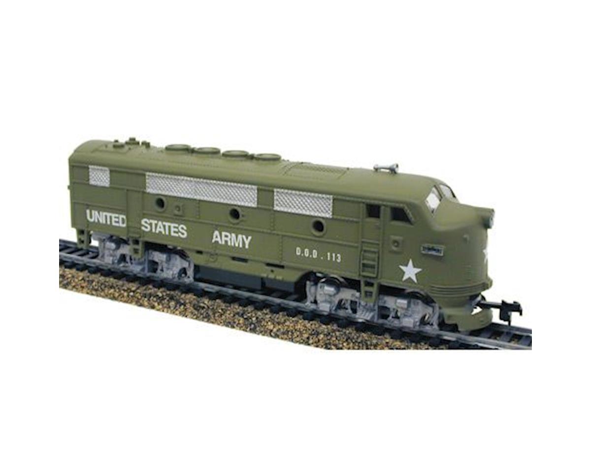 Model Power F2A Diesel US Army HO