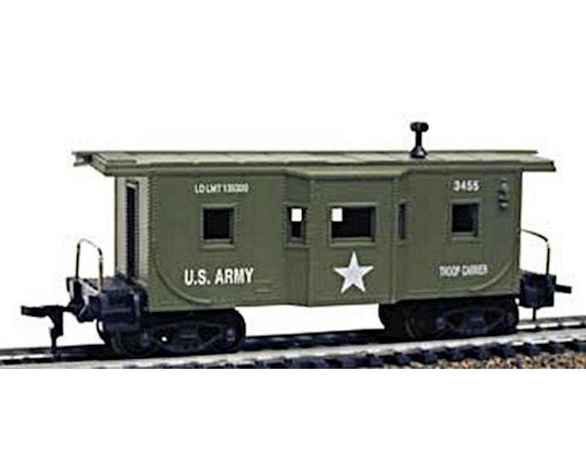 HO Caboose, US Army by Model Power