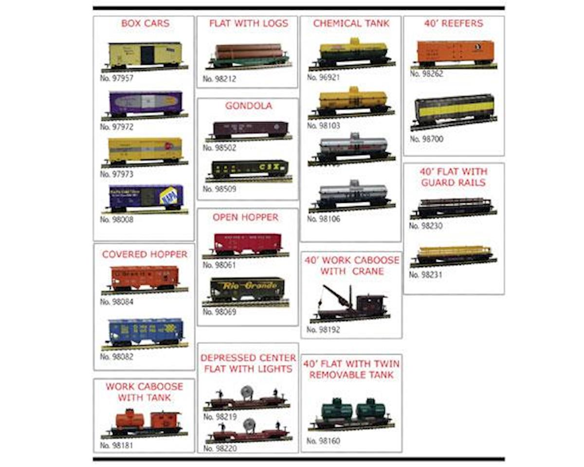 Model Power HO Freight Car Assortment (24)