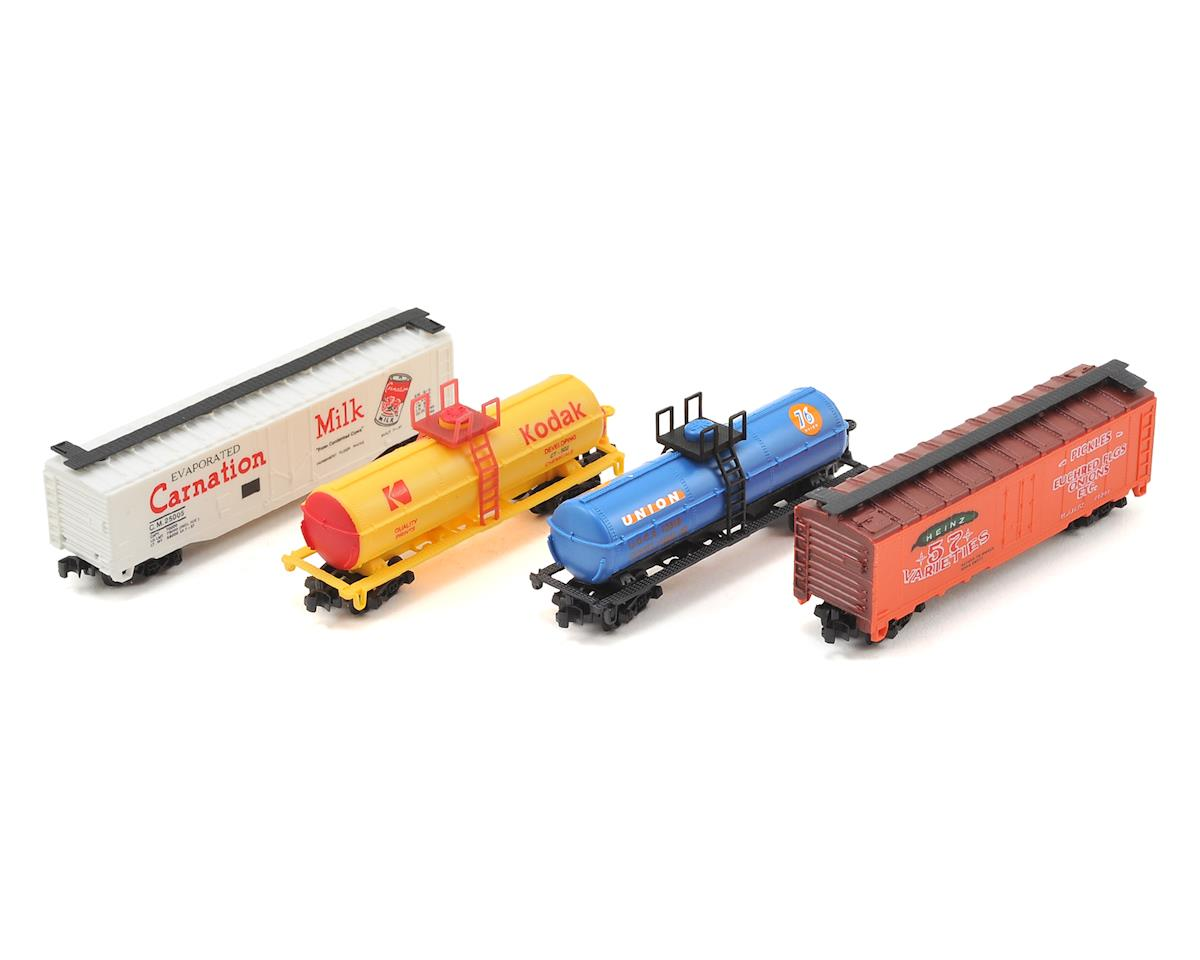 Model Power N-Scale Freight Car Assortment (24)