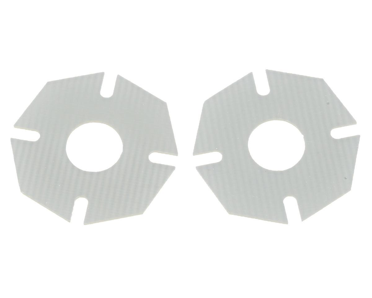 AE/Yokomo FR4 High Bite Vented Slipper Pad Set by Mckune Design