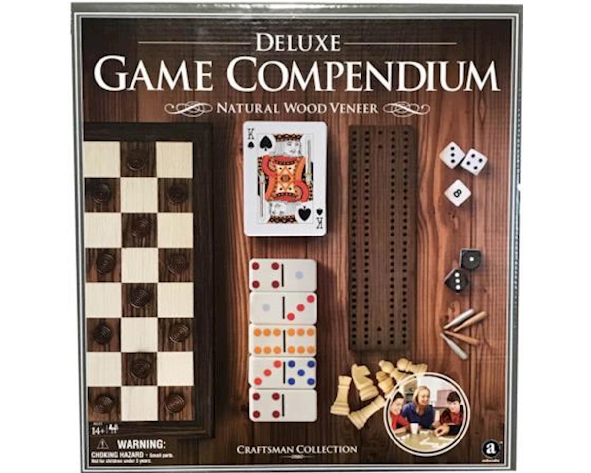 Merchant Ambassadors Wood Veneer Deluxe Games Compendium