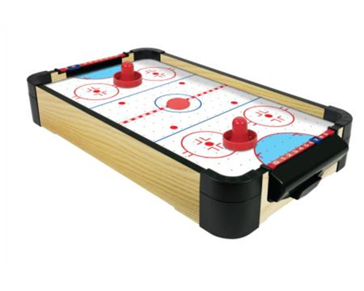 "Merchant Ambassadors Merchant Ambassador MA3151B 20"" Wood Tabletop Air Hockey (Batteries not Included)"