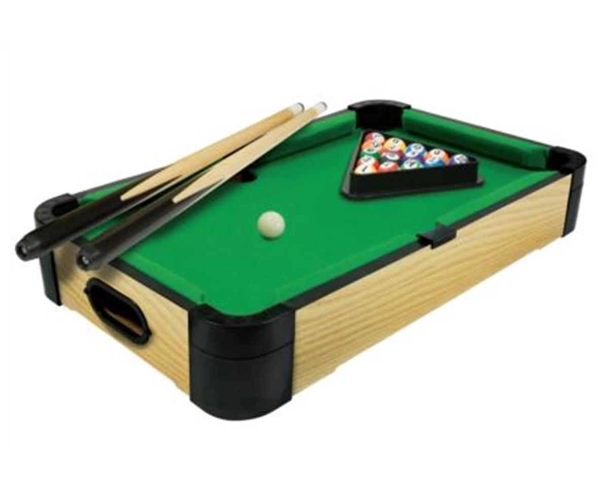 20In Wood Tabletop Billiards