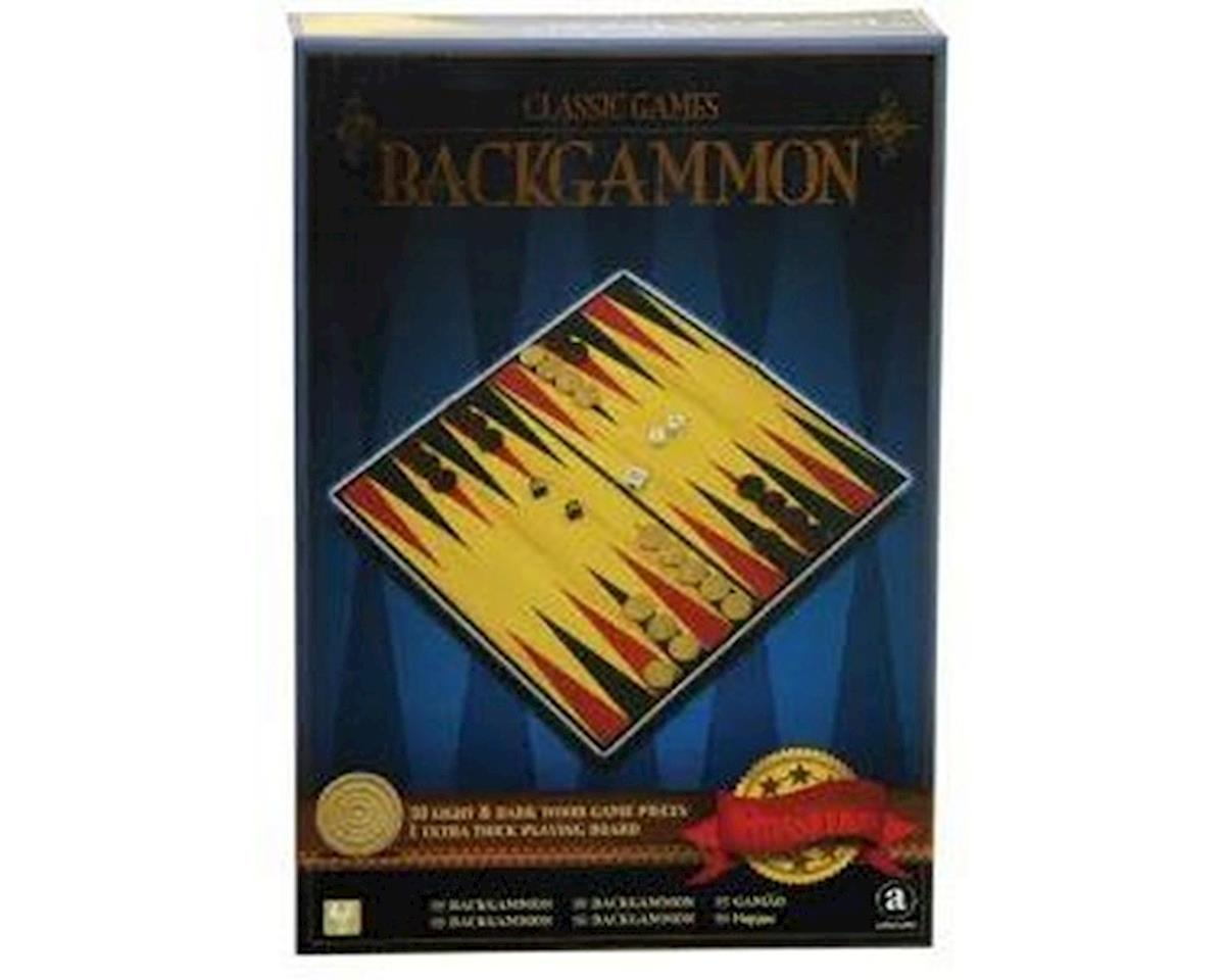 Merchant Ambassadors Classic Games Wood Backgammon