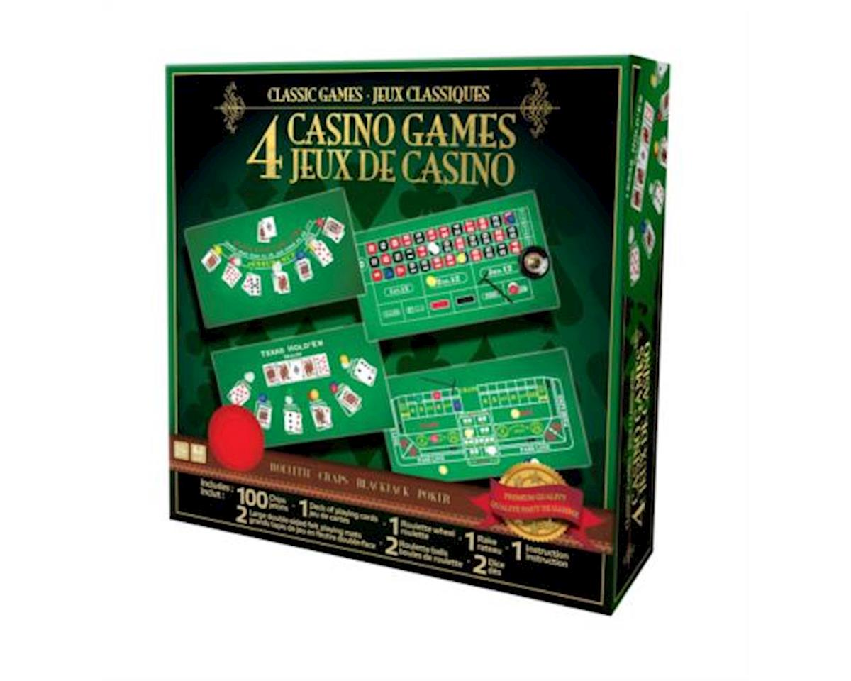 Merchant Ambassadors Merchant Ambassador ST017 Classic Games Collection - 4 Casino Games Set