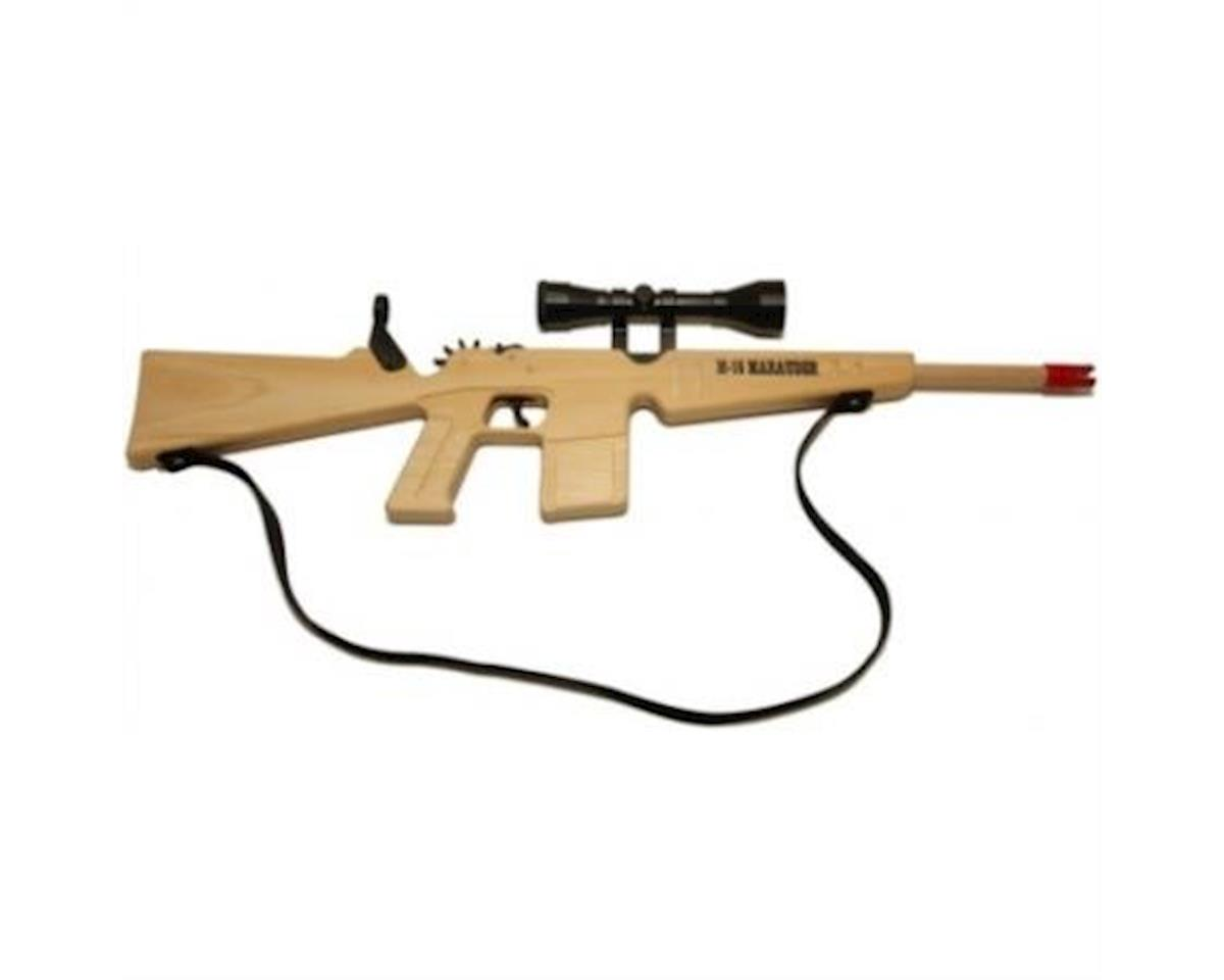 M-16 Marauder Rifle w/Scope & Sling (12 Shot) Blue Ammo