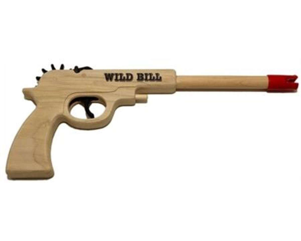 Magnum Enterprises GL2WB Wild Bill Pistol Rubber Band Gun