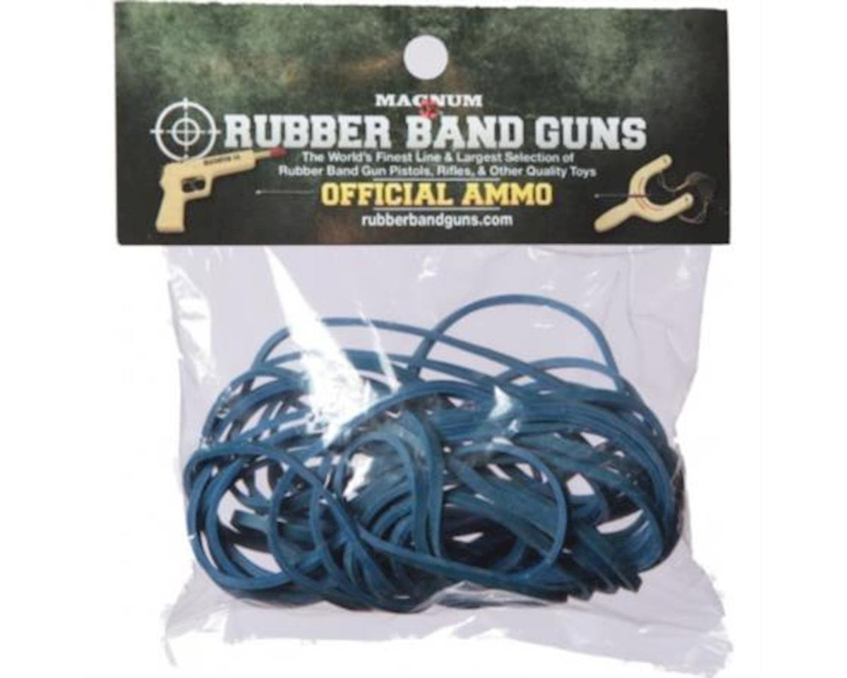 Magnum Enterprises Magnum Blue Size 125 Rubber Bands (1oz bag)