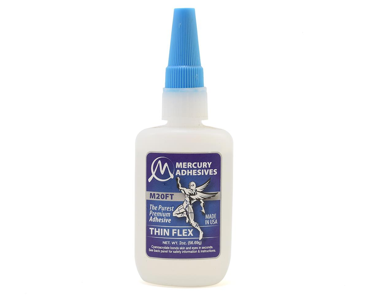 Mercury Adhesives Thin Flex M20FT CA Glue (2oz)