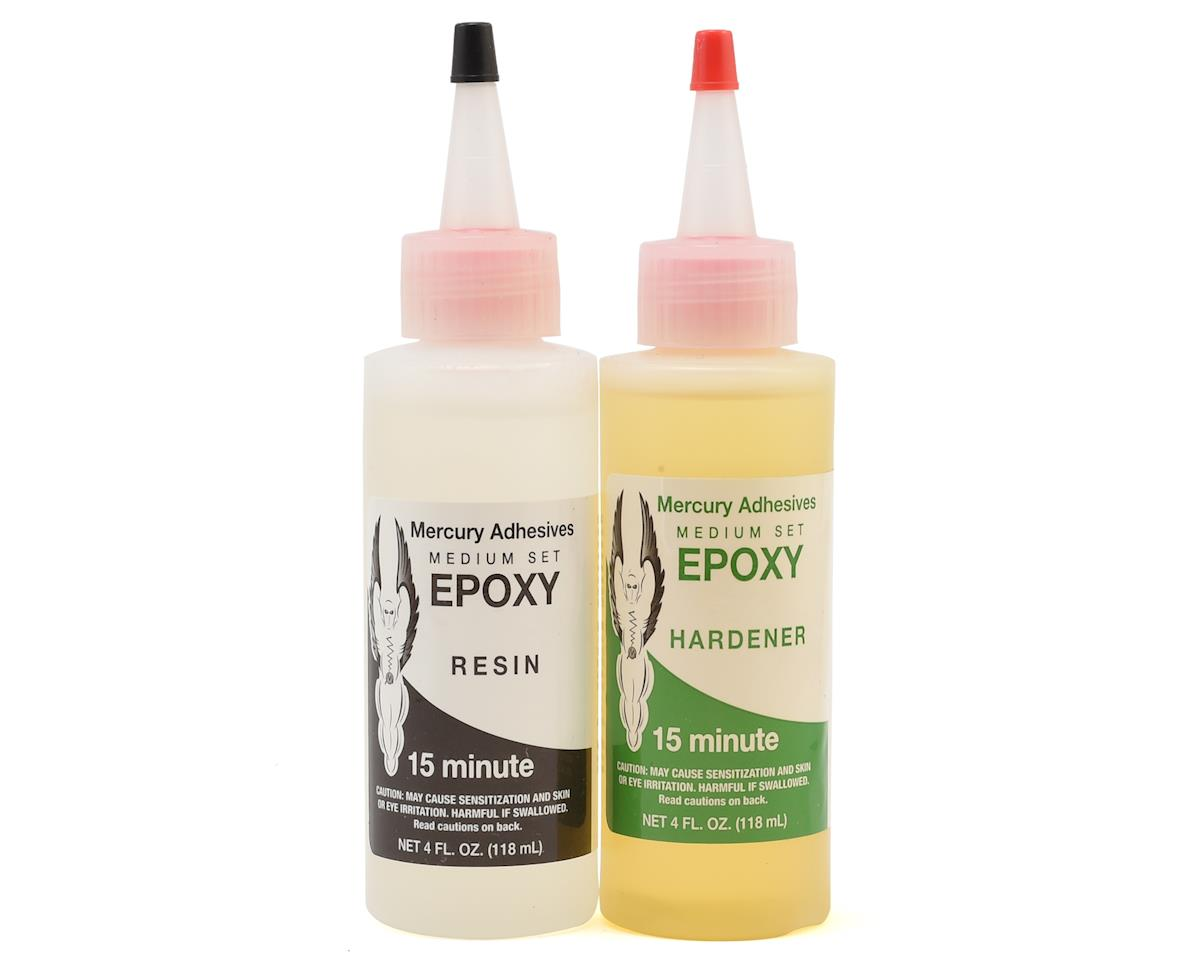 Mercury Adhesives Medium Set Epoxy (8oz) (15 Minute)