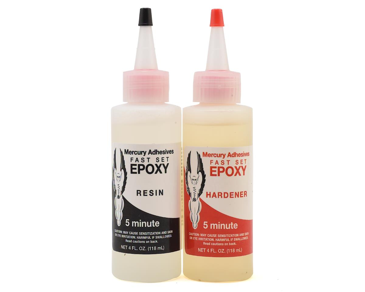 Mercury Adhesives Fast Set Epoxy (8oz) (5 Minute)