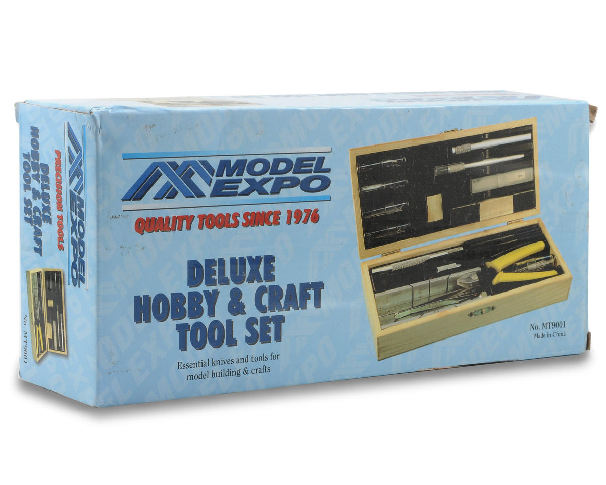 Model Expo Deluxe Hobby & Craft Tool Set