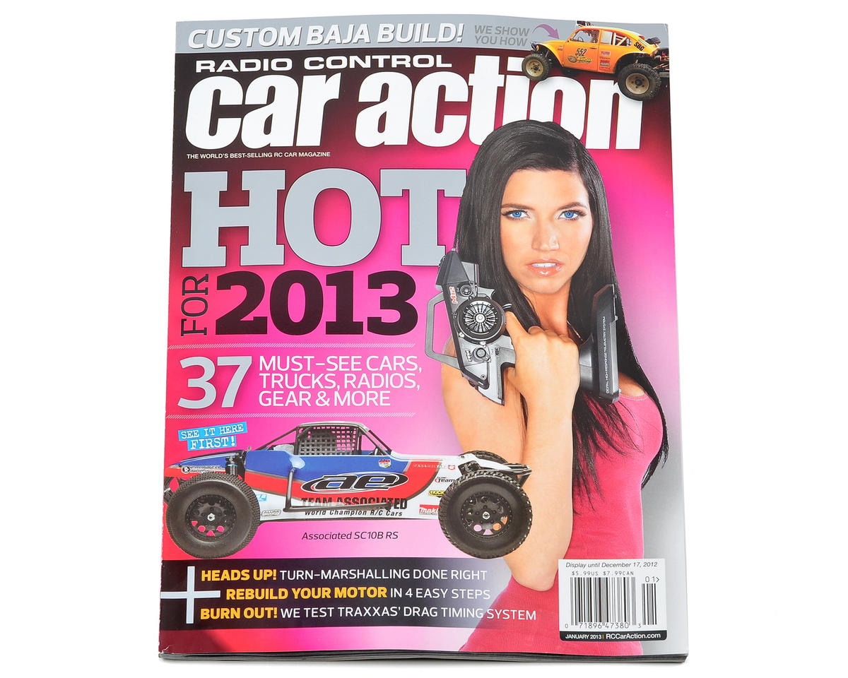Radio Control Car Action Magazine - January 2013 Issue