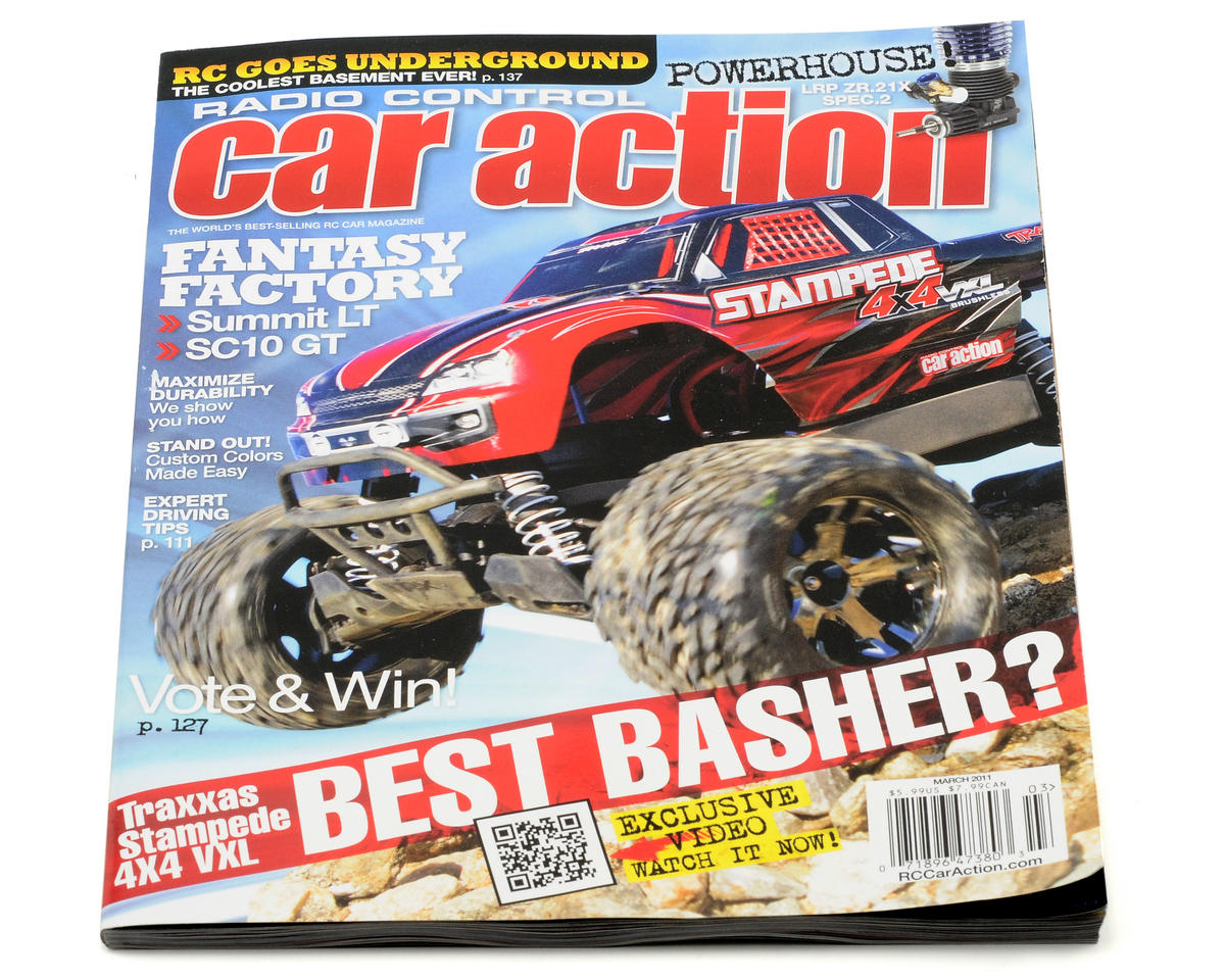 Radio Control Car Action Magazine - March 2011 Issue [MG-CARACT0311]   Cars  & Trucks