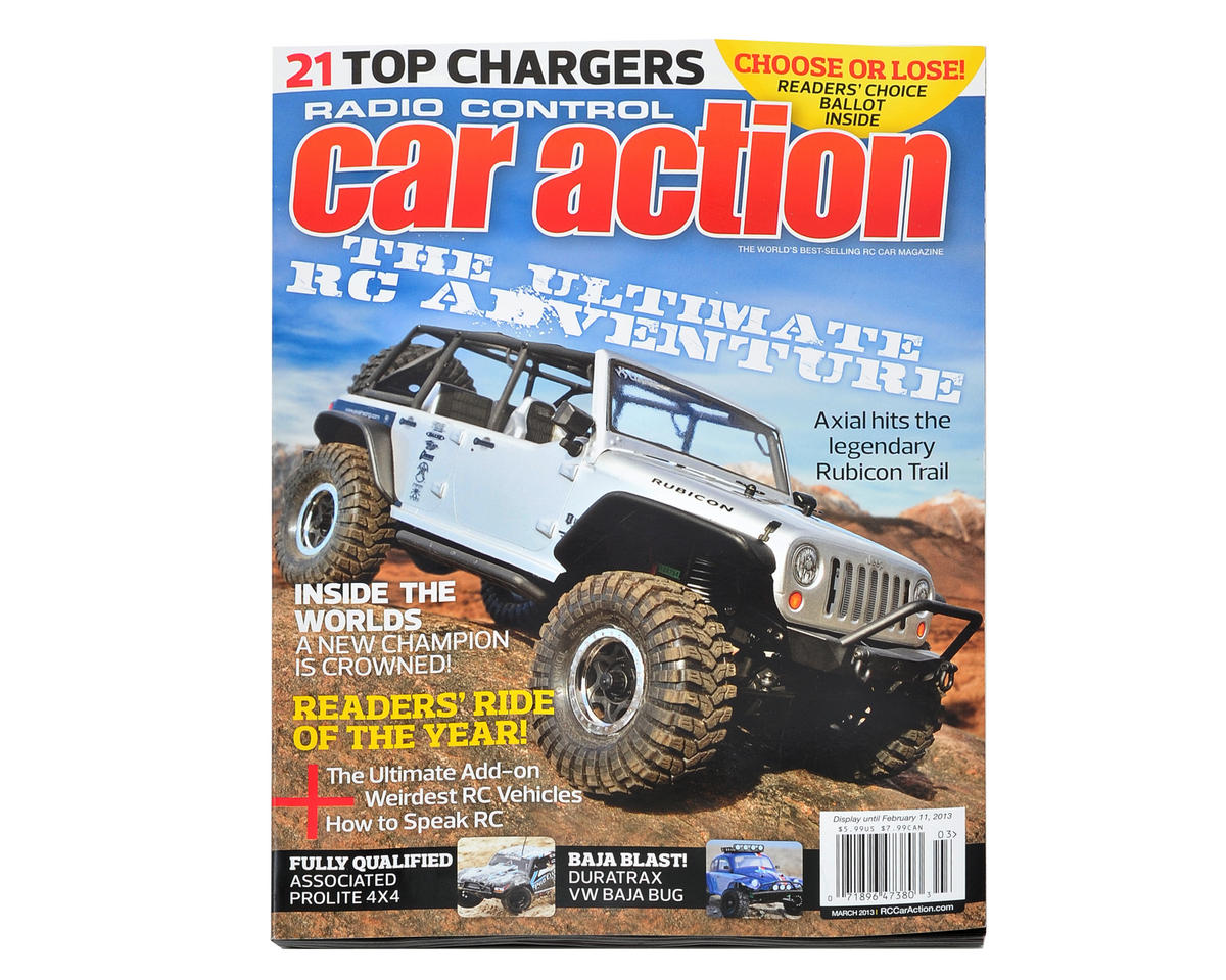 Radio Control Car Action Magazine - March 2013 Issue