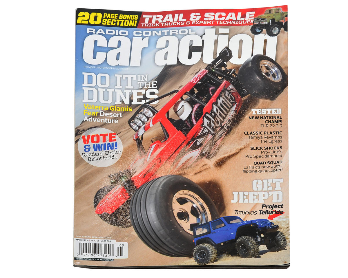 Radio Control Car Action Magazine - March 2014 Issue