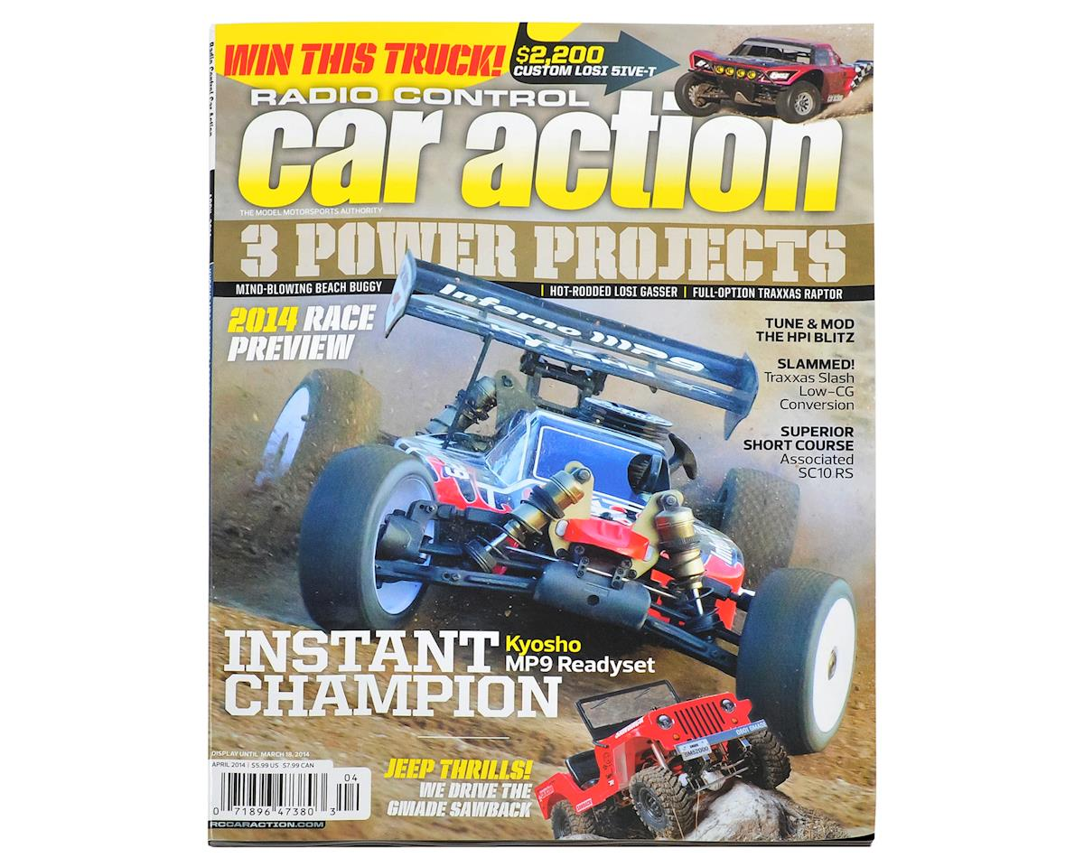 Radio Control Car Action Magazine - April 2014 Issue