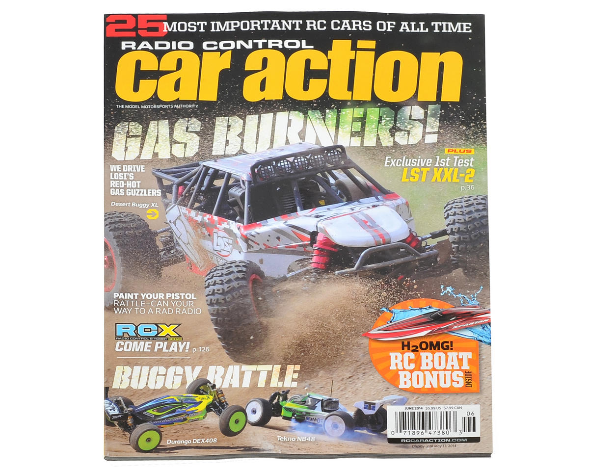 Radio Control Car Action Magazine - June 2014 Issue