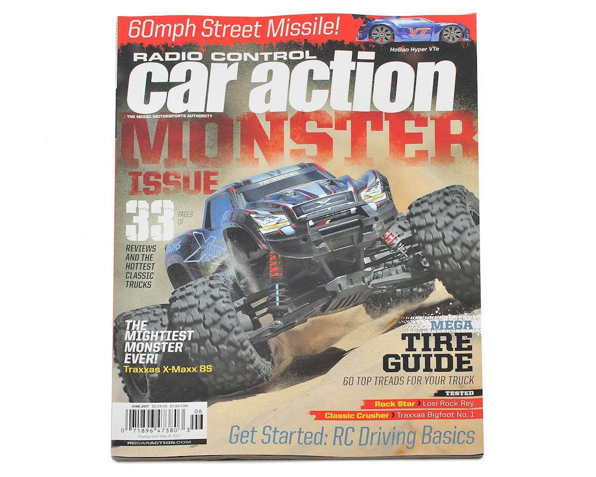 Radio Control Car Action Monster Issue Magazine - June 2017 Issue