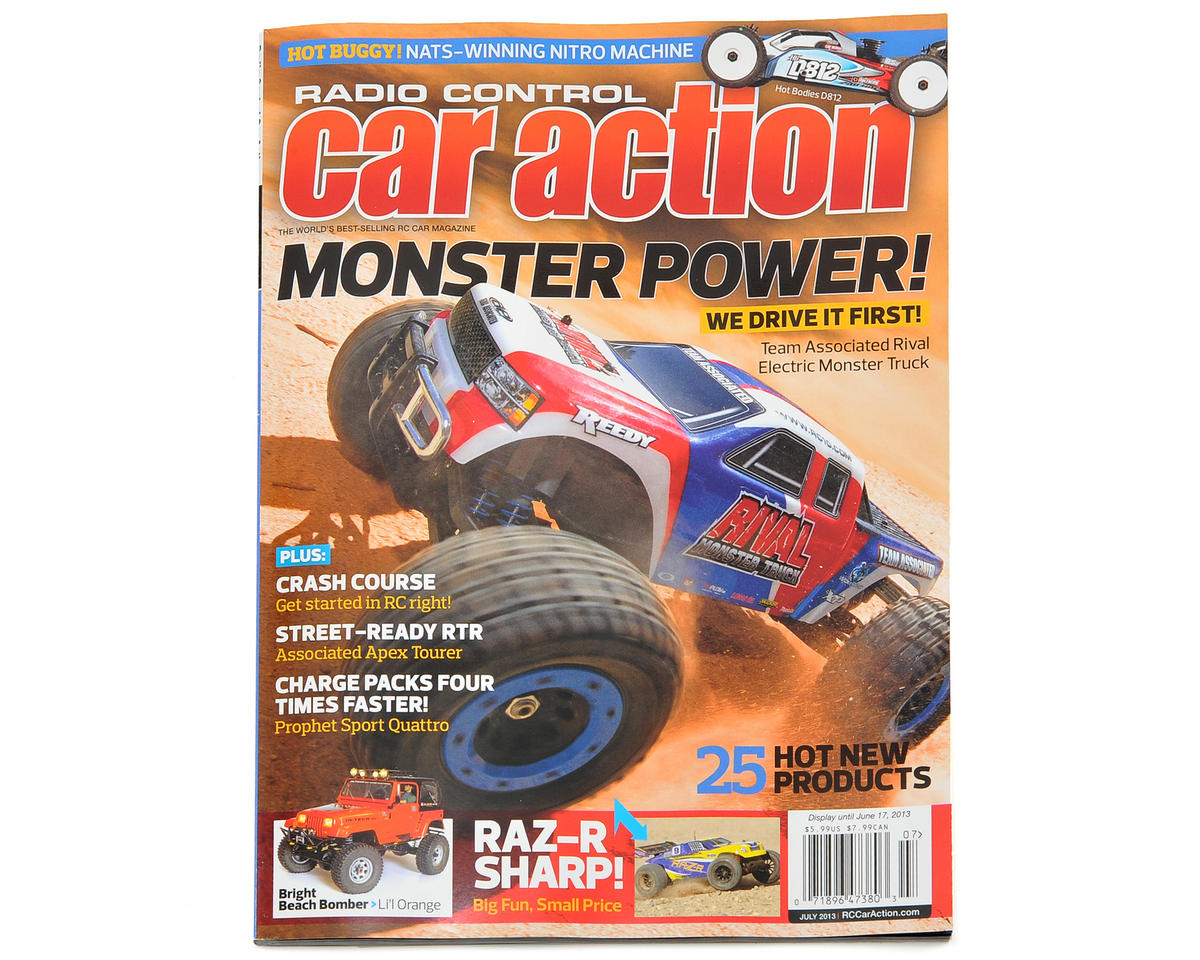 Radio Control Car Action Magazine - July 2013 Issue