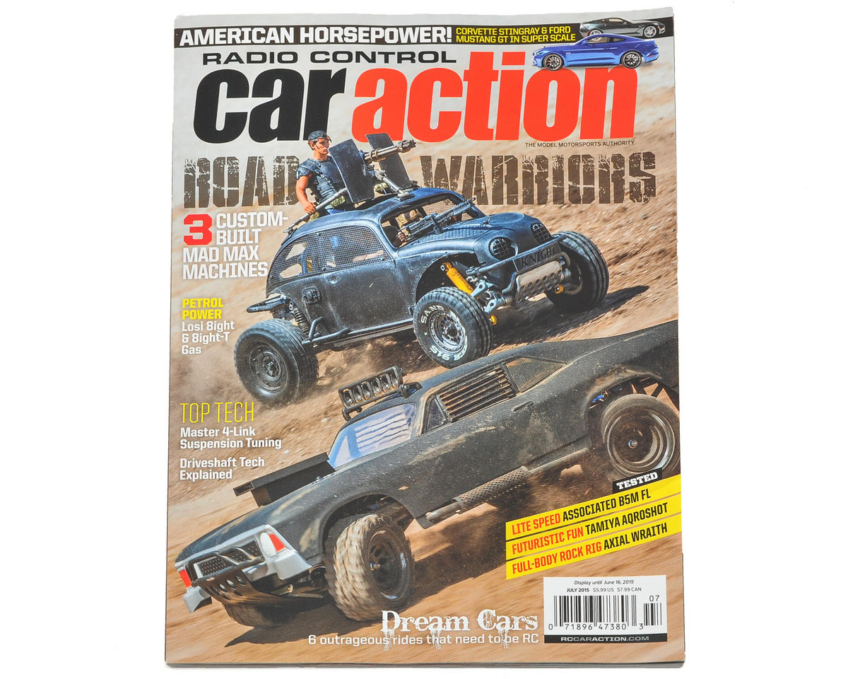 Radio Control Car Action Magazine - July 2015 Issue