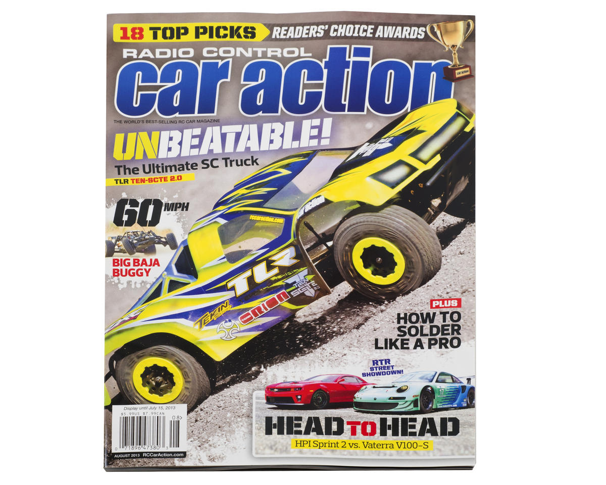 Rc Car Action >> Radio Control Car Action Magazine August 2013 Issue Mg Caract0813