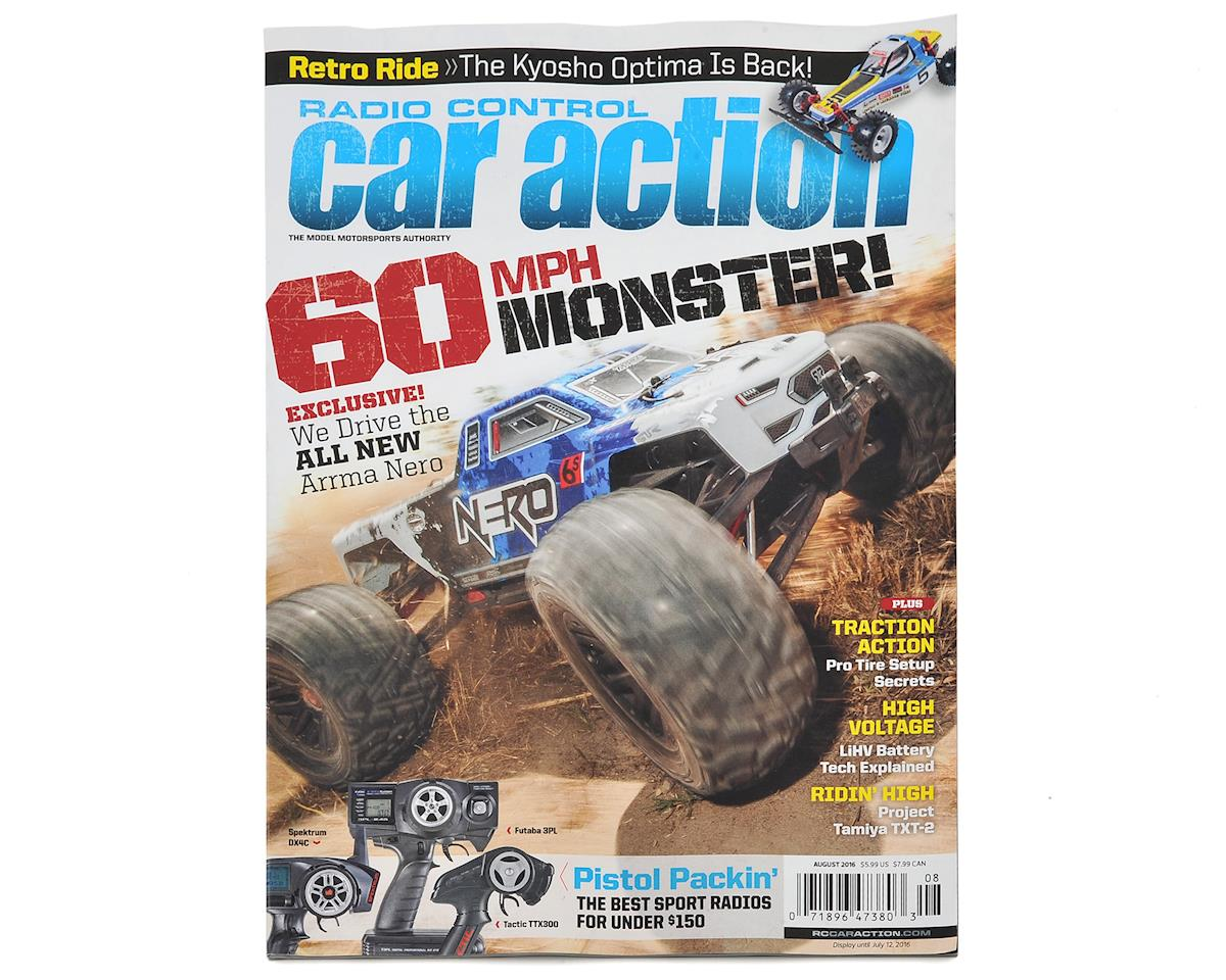 Radio Control Car Action Magazine - August 2016 Issue