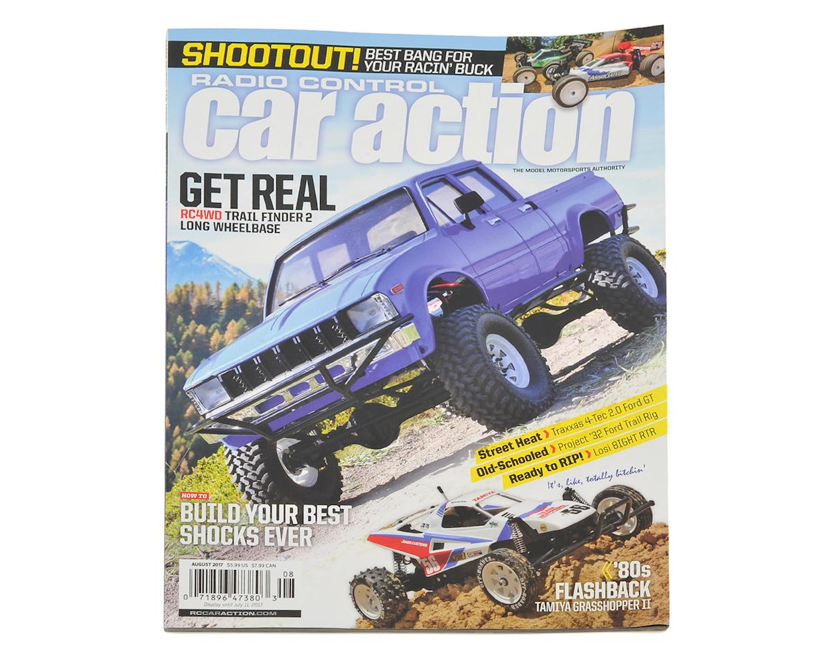 Radio Control Car Action Magazine August Issue Mg