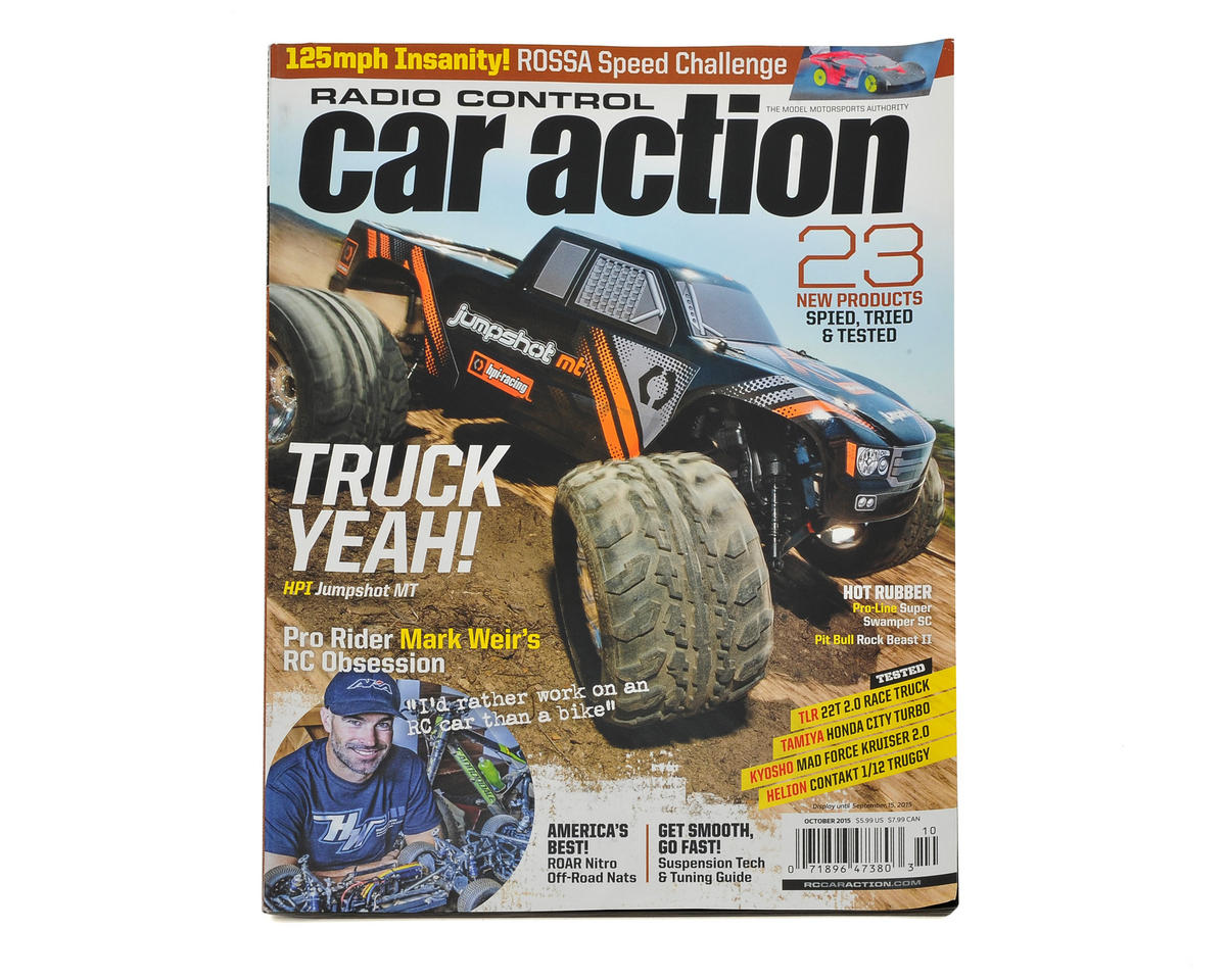 Rc Car Action >> Radio Control Car Action Magazine October 2015 Issue Mg