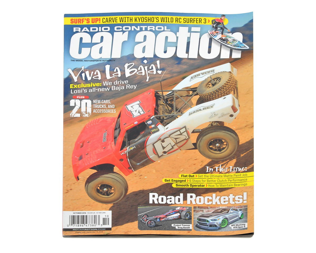 Radio Control Car Action Magazine - October 2016 Issue