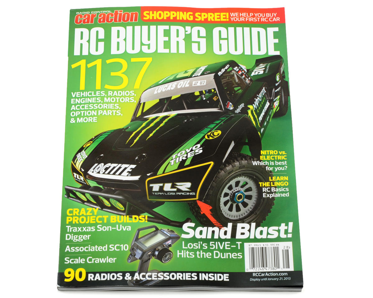 Radio Control Car Action 2013 RC Buyers Guide Magazine