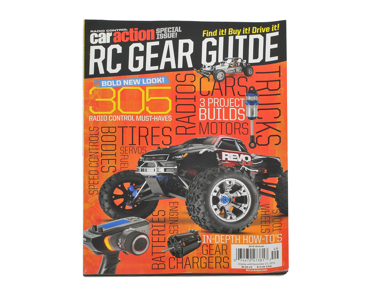 Radio Control Car Action Gear Guide Magazine - 2016 Issue