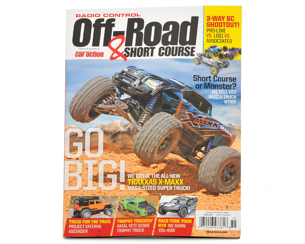 "Radio Control Car Action ""Off-Road & Short Course"" Magazine - Annual 2016 Issue"