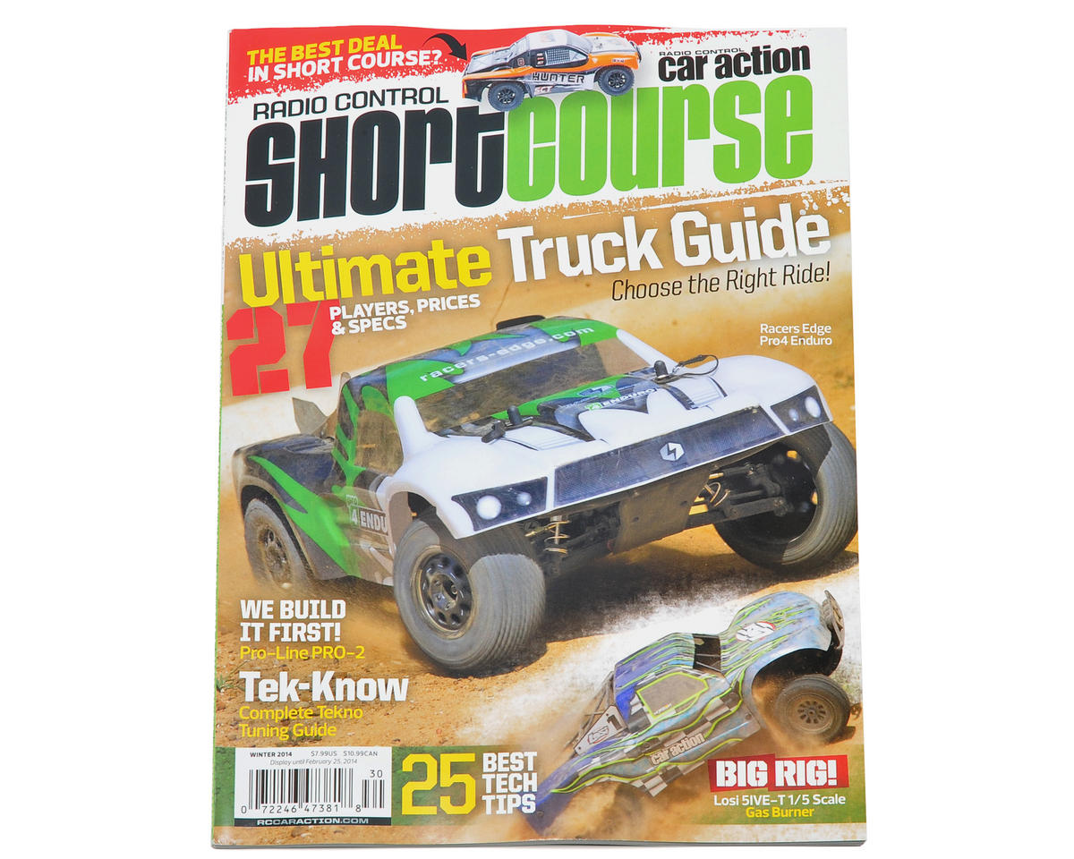 "Radio Control Car Action ""Short Course"" Magazine - Winter 2014 Issue"