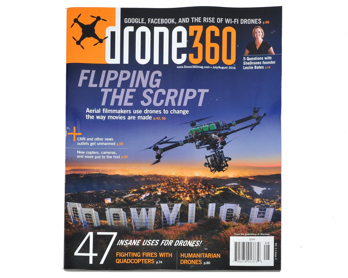 Rotor Drone Drone 360 Magazine - August 2016 Issue