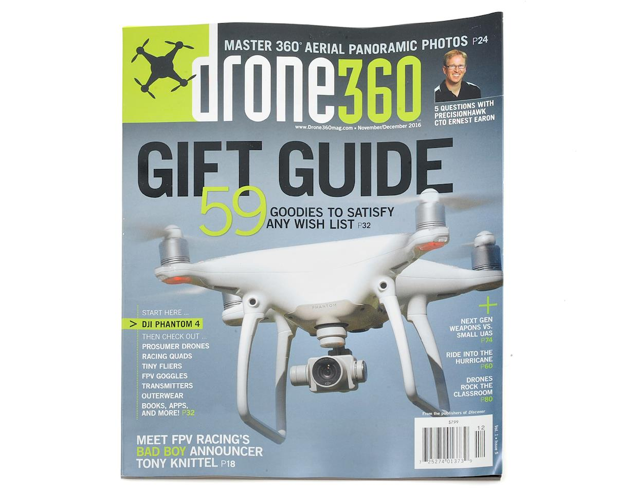 Drone 360 Magazine - December 2016 Issue